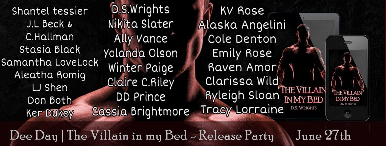 Release Day Party for The Villain in My Bed