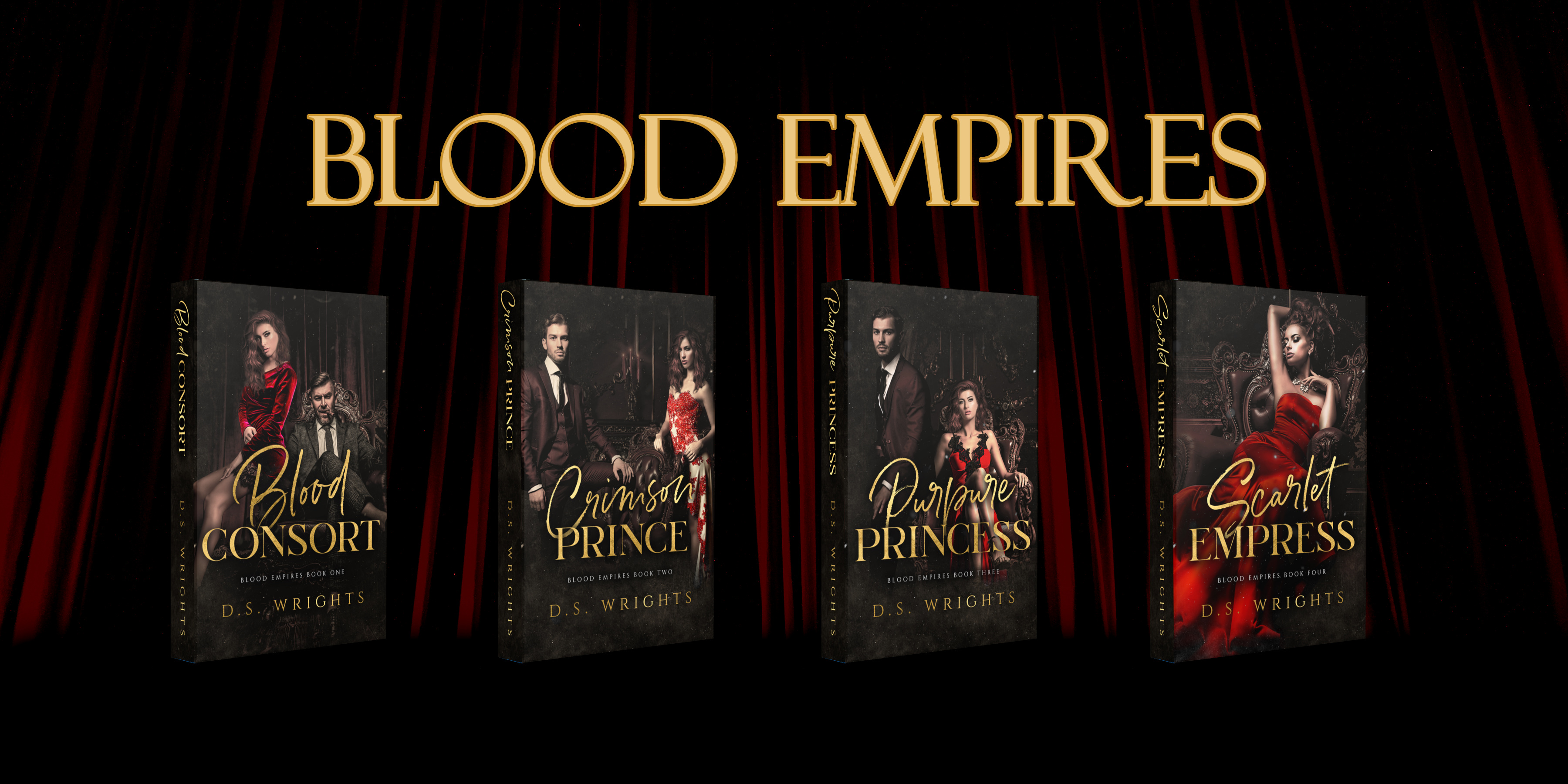 Blood Empires series by D.S. Wrights